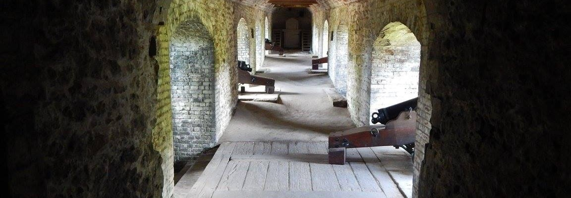 Dover Castle Room with Cannons