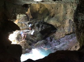Pool in Cueva del Indio