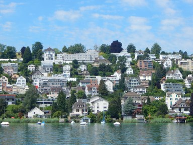 Lake Zurich view