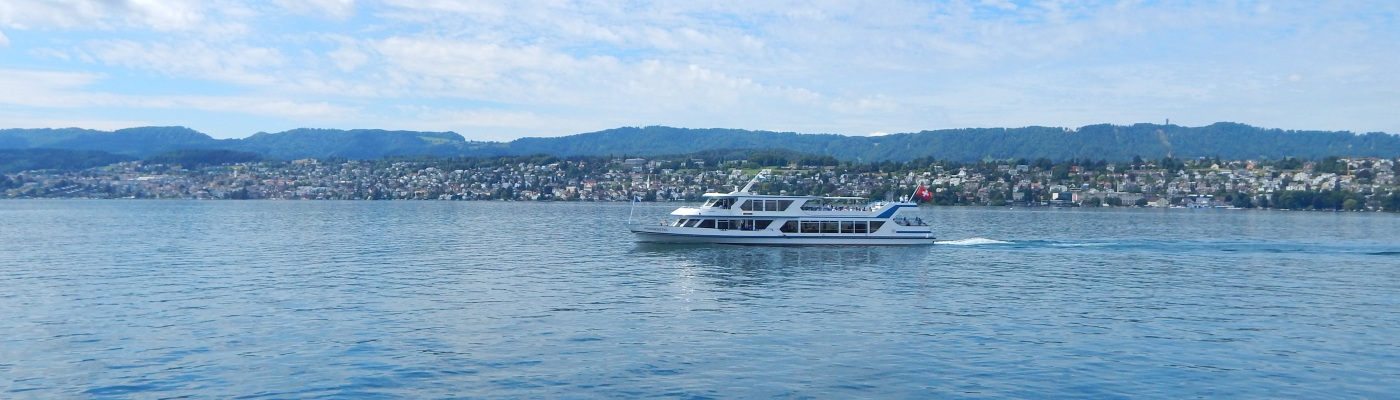 ferry boat ride in Switzerland