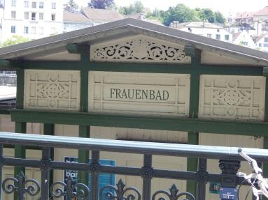 Frauenbad (women's bath)