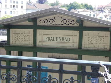 Frauenbad (women's bath)