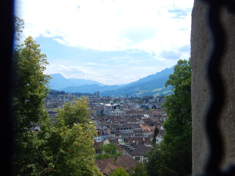View of Lucern from Towers