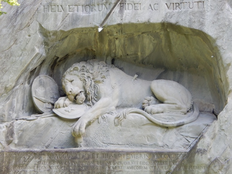 Lion Monument in Lucern