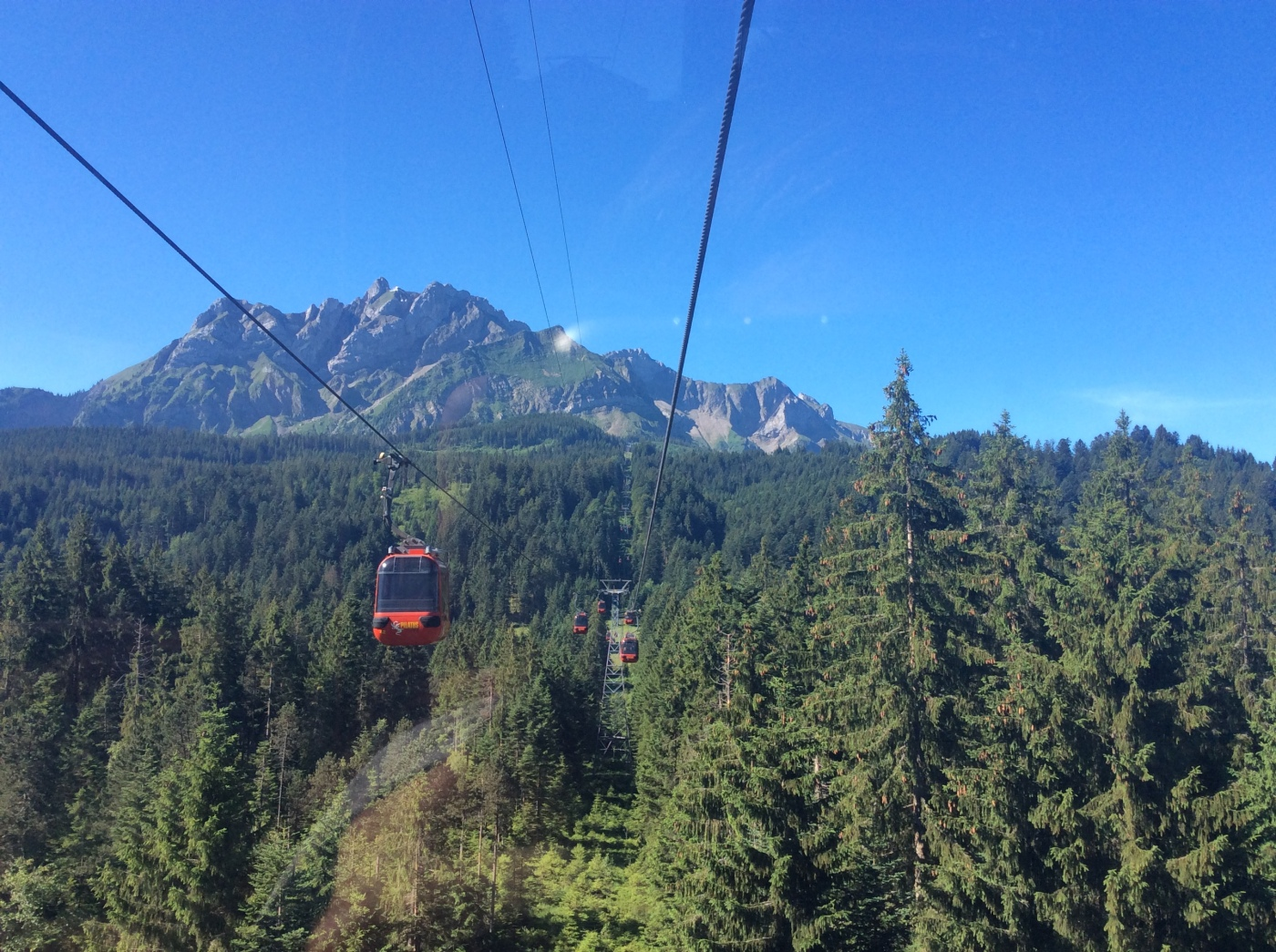Cable Car Ride on Mt. Pilatus