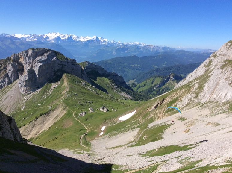 View from Mt. Pilatus