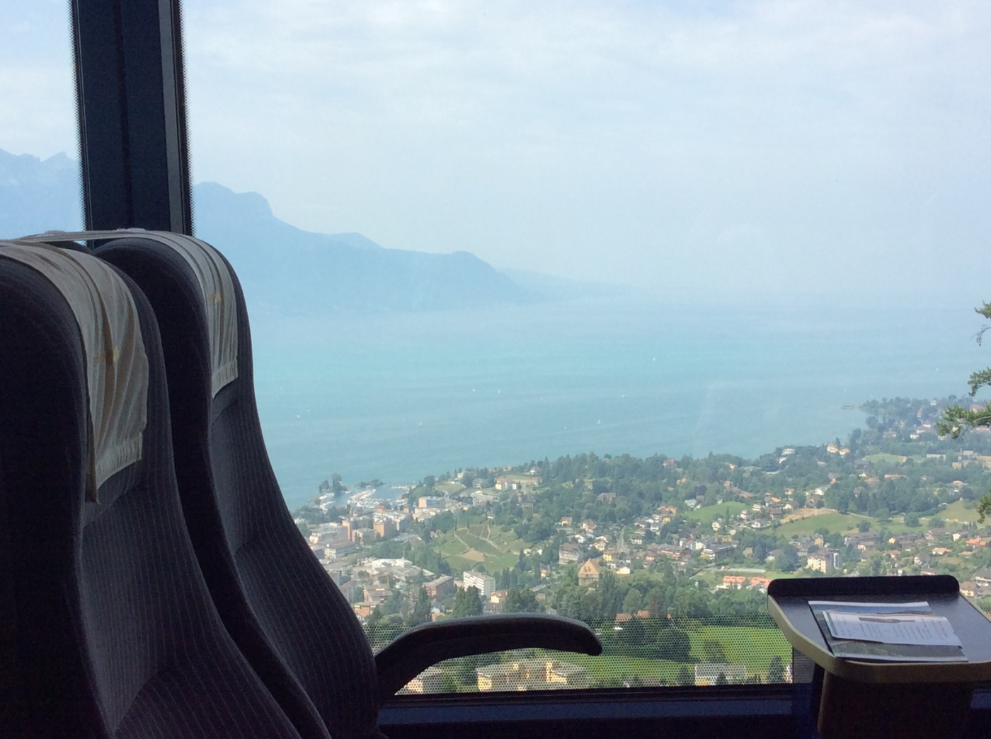View from Golden Pass panoramic train route
