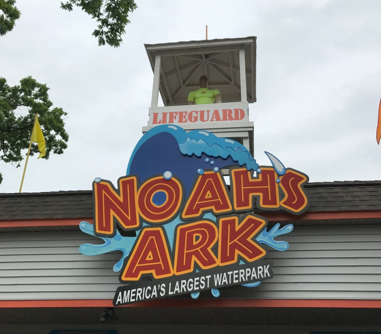Noah's Ark Water Park Sign