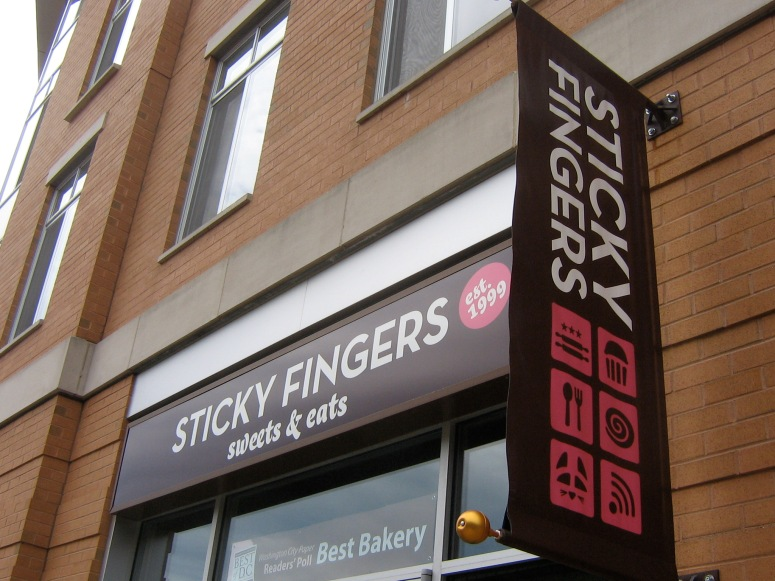 Sticky Fingers Bakery in Washington DC