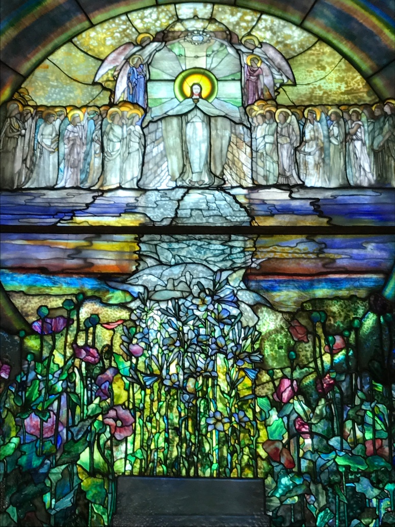 Stained Glass Window at the Wade Chapel