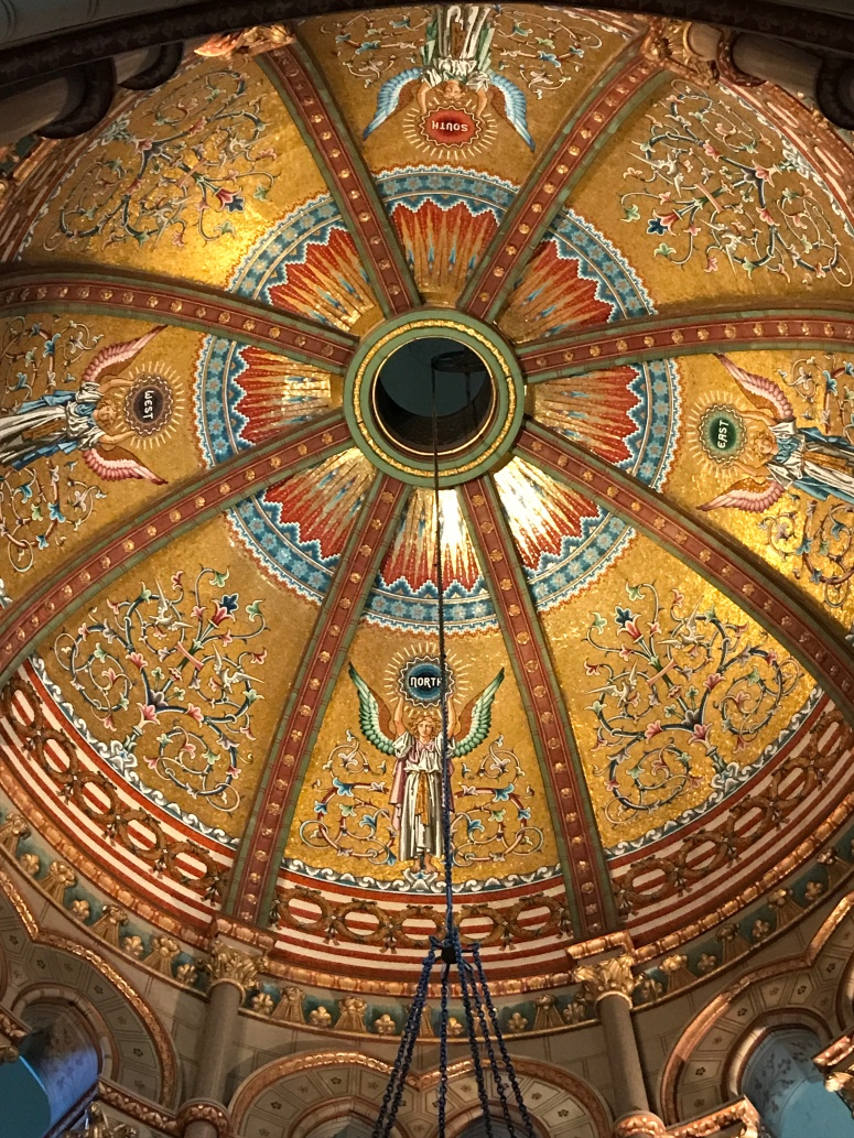 Ceiling of the James Garfield Memorial