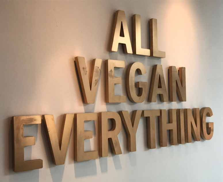 All Vegan Everything Sign