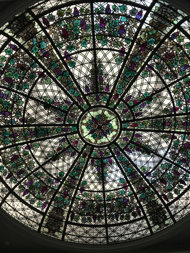 Conservatory Ceiling at Casa Loma