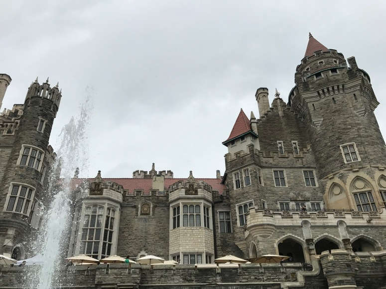 Casa Loma with Fountain