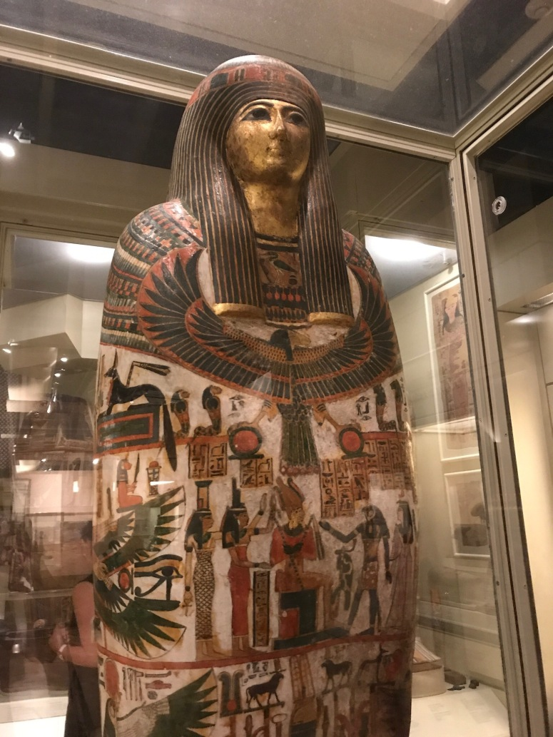 Mummy at the Royal Ontario Museum