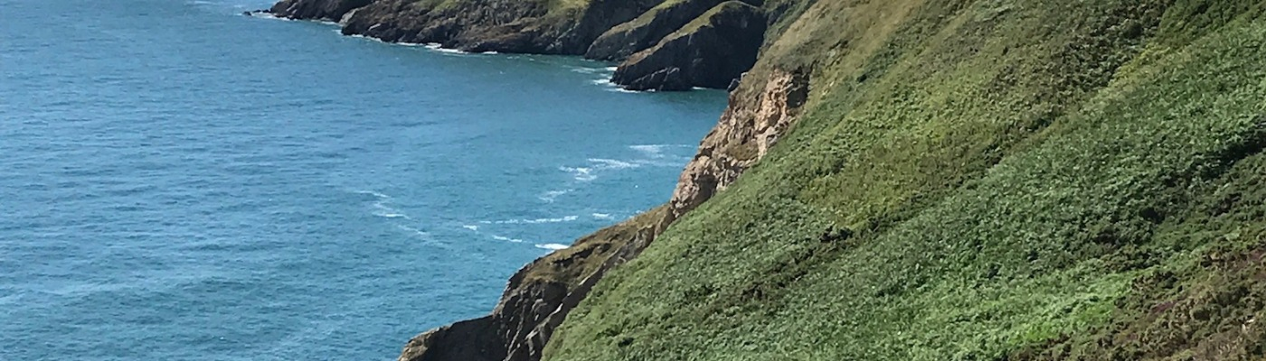 Hiking the Coastal Cliffs in Howth