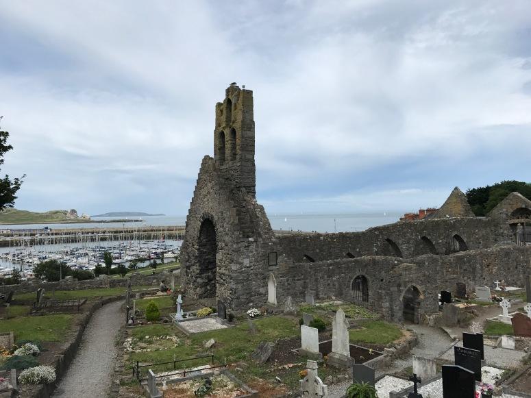 St. Mary's Abbey in Howth, Ireland