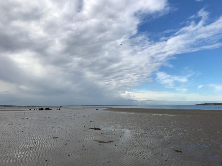Beach in Howth, Ireland