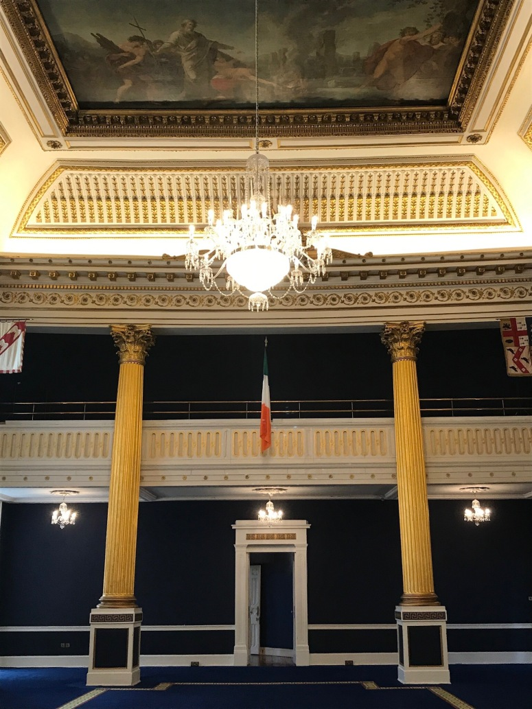 Blue Room at Dublin Castle