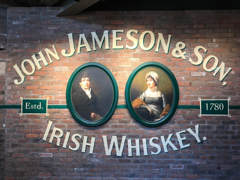 Jameson Whiskey Distillery Tour