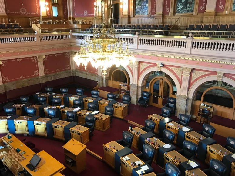 Senate Chamber at the Colorado State Capitol