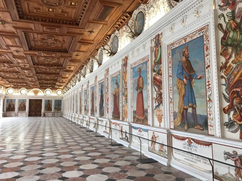 Spanish Hall at Schloss Ambras