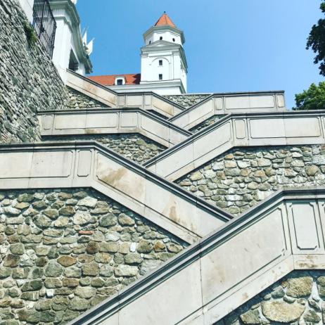 Bratislava Castle Stairs