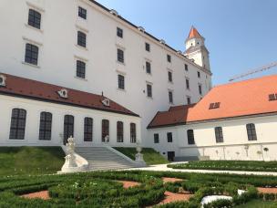 Bratislava Castle with Gardens