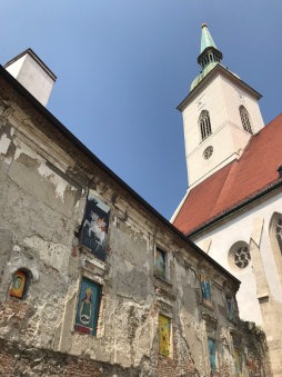 Church and Painted Windows