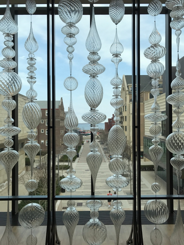 Art Installation at Madison's Chazen Museum of Art