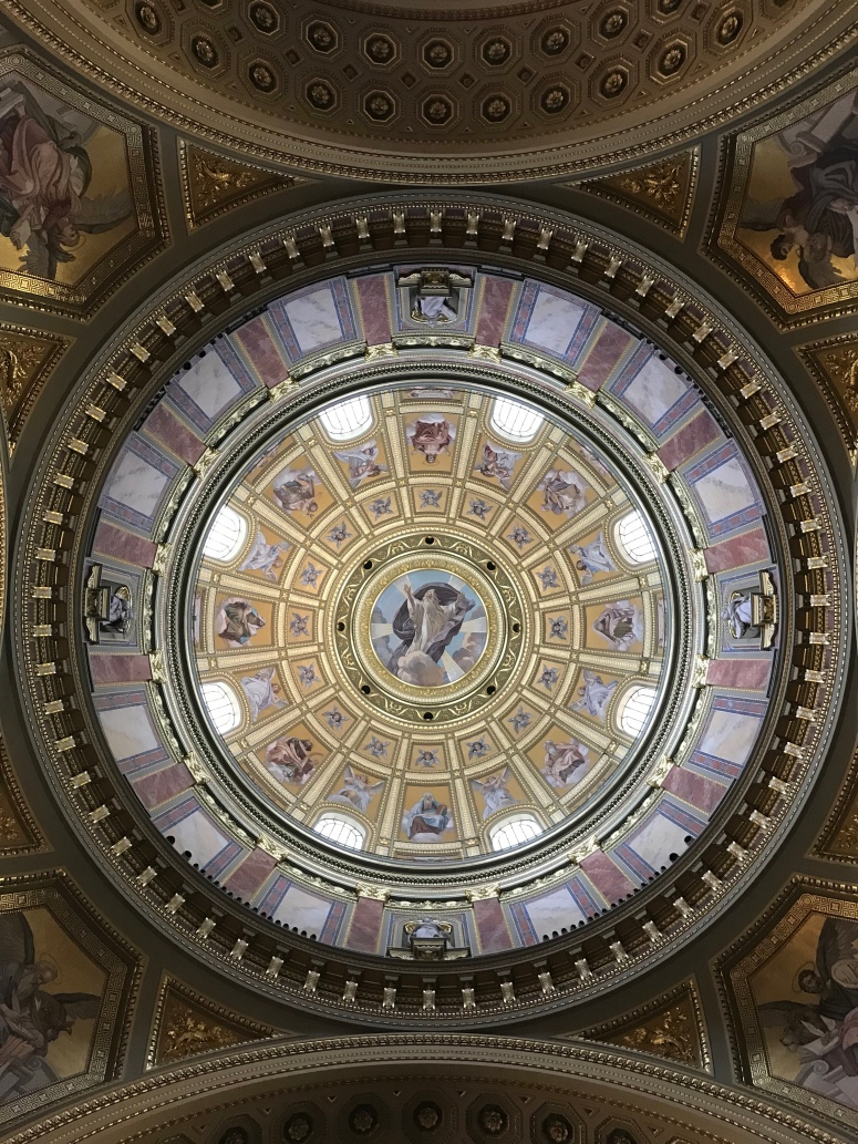 The Dome of St. Stephen's Basilica