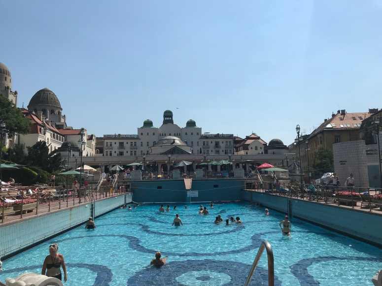 Outdoor Pool at the Gellert Baths