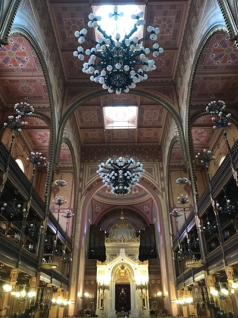 The Inside of Dohany Street Synagogue