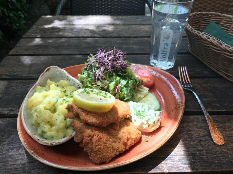 Vegan Wiener Schnitzel