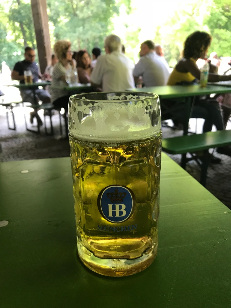 Radler at the Beer Garden