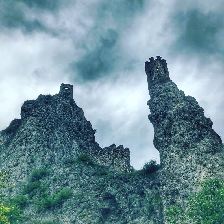 Devin Castle in Devin, Slovakia