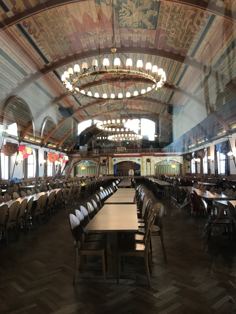 Hofbrauhaus Beer Hall in Munich