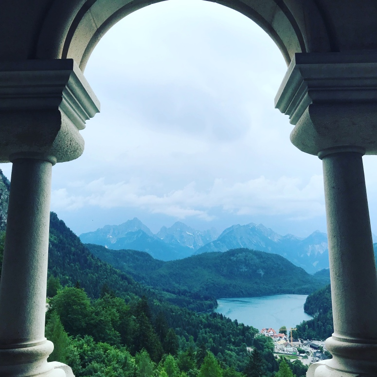 View from Neuschwanstein