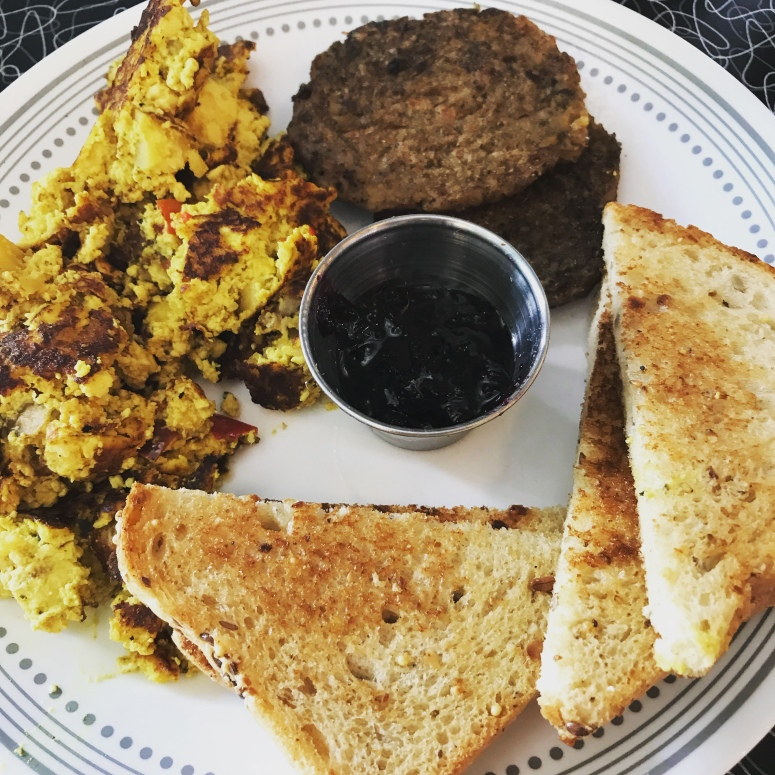 Tofu Scramble at Spiral Diner in Fort Worth