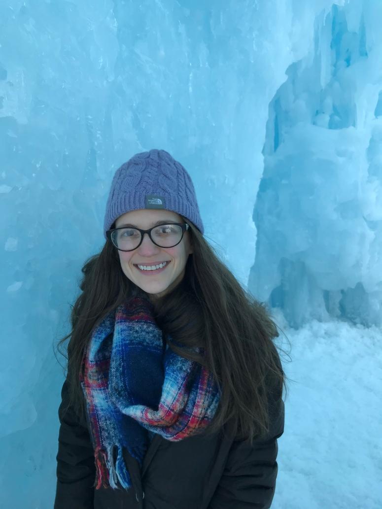 Ice Castles in Stillwater, Minnesota